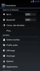 Alcatel One Touch Idol - Réseau - Sélection manuelle du réseau - Étape 4