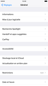 Apple Apple iPhone 7 Plus - Applications - Comment désinstaller une application - Étape 4