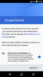 Sony Xperia XZ - Android Nougat - E-Mail - Konto einrichten (gmail) - Schritt 14