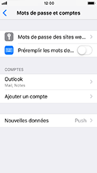Apple iPhone 5s - iOS 12 - E-mail - Configuration manuelle (outlook) - Étape 10