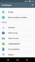 Sony Xperia XA - Android Nougat - Resetten - Fabrieksinstellingen terugzetten - Stap 4