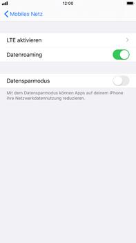 Apple iPhone 7 Plus - iOS 13 - Internet und Datenroaming - Deaktivieren von Datenroaming - Schritt 5