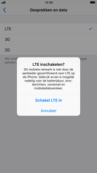 Apple iPhone 6 Plus - iOS 11 - Netwerk - 4G/LTE inschakelen - Stap 7