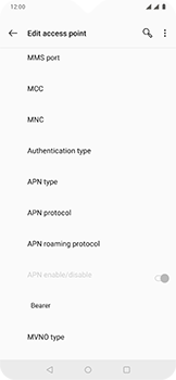 OnePlus 6T - Internet - Manual configuration - Step 13