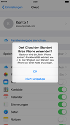 Apple iPhone 6 Plus - iOS 8 - Apps - Konfigurieren des Apple iCloud-Dienstes - Schritt 8