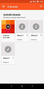 Alcatel 3L - Photos, vidéos, musique - Ecouter de la musique - Étape 5