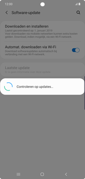 Samsung Galaxy Note 10 Plus - software - update installeren zonder pc - stap 6