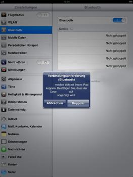 Apple iPad mini - Bluetooth - Geräte koppeln - Schritt 8