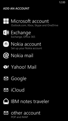 Nokia Lumia 830 - Email - Manual configuration POP3 with SMTP verification - Step 6