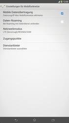 Sony Xperia Z Ultra LTE - Netzwerk - Netzwerkeinstellungen ändern - 2 / 2