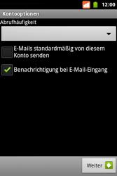 BASE Varia - E-Mail - Konto einrichten - Schritt 16