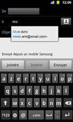 Samsung I8160 Galaxy Ace II - E-mail - envoyer un e-mail - Étape 5