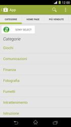 Sony Xperia Z1 - Applicazioni - Installazione delle applicazioni - Fase 6