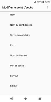 Sony Xperia XZ2 - MMS - Configuration manuelle - Étape 9