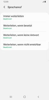 Samsung Galaxy S9 - Android Pie - Anrufe - Rufumleitungen setzen und löschen - Schritt 10