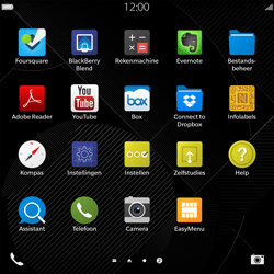 BlackBerry Passport - Voicemail - Handmatig instellen - Stap 3
