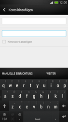 HTC One Mini - E-Mail - Manuelle Konfiguration - Schritt 7