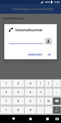 Sony Xperia XZ2 Compact - Voicemail - Handmatig instellen - Stap 10