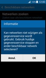Samsung G357 Galaxy Ace 4 - Netwerk - Handmatig een netwerk selecteren - Stap 10