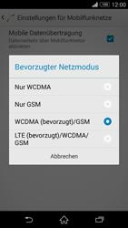 Sony Xperia Z3 - Netzwerk - Netzwerkeinstellungen ändern - 7 / 8