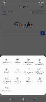 Samsung Galaxy A51 - Internet und Datenroaming - Verwenden des Internets - Schritt 9
