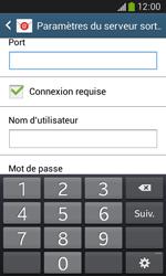 Samsung Galaxy Ace III - E-mail - configuration manuelle - Étape 14