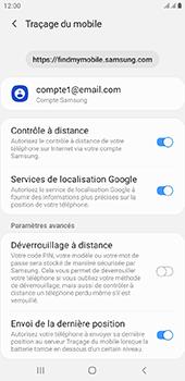 Samsung Galaxy J6 Plus - Appareil - configurer Localiser mon appareil - Étape 9