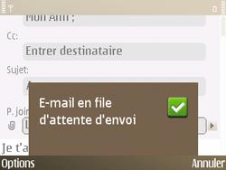 Nokia E72 - E-mail - envoyer un e-mail - Étape 14