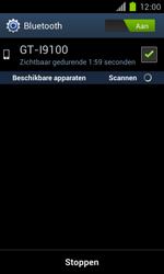 Samsung I9100 Galaxy S II met OS 4 ICS - bluetooth - aanzetten - stap 8