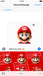 Apple iPhone 6 iOS 10 - iOS features - Envoyer un iMessage - Étape 23