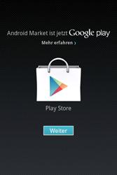 Alcatel OT-983 - Apps - Einrichten des App Stores - Schritt 13