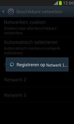 Samsung I8190 Galaxy S III Mini - Netwerk - Handmatig een netwerk selecteren - Stap 10