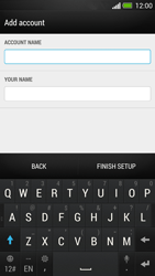 HTC One - E-mail - Manual configuration - Step 14