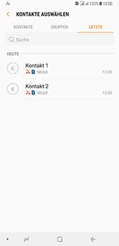 Samsung Galaxy A8 Plus (2018) - Anrufe - Anrufe blockieren - Schritt 9