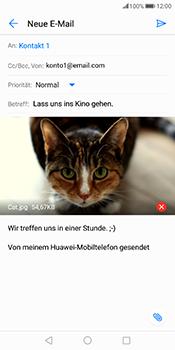 Huawei Mate 10 Pro - E-Mail - E-Mail versenden - 16 / 18