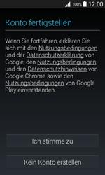 Samsung Galaxy J1 - Apps - Konto anlegen und einrichten - 14 / 19