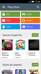 Alcatel One Touch Idol Mini - Applicazioni - Come verificare la disponibilità di aggiornamenti per l