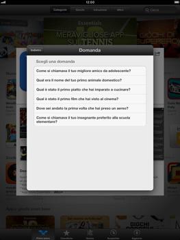Apple iPad mini - Applicazioni - Configurazione del negozio applicazioni - Fase 14