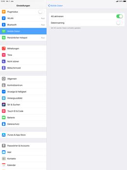 Apple iPad Pro 12.9 inch - iOS 12 - Ausland - Auslandskosten vermeiden - Schritt 8