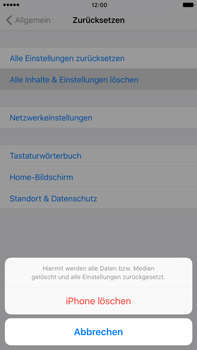 Apple iPhone 6s Plus - Fehlerbehebung - Handy zurücksetzen - 8 / 11