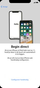 Apple iPhone X - Toestel - Toestel activeren - Stap 9