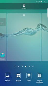 Samsung Galaxy S6 edge+ (G928F) - Operazioni iniziali - Installazione di widget e applicazioni nella schermata iniziale - Fase 4