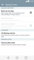 LG Spirit 4G - Mobile phone - Resetting to factory settings - Step 6