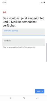 Samsung Galaxy Note 10 - E-Mail - Manuelle Konfiguration - Schritt 21