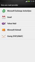 HTC Desire 601 - E-mail - e-mail instellen: POP3 - Stap 5