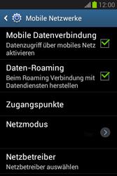 Samsung Galaxy Fame Lite - Internet und Datenroaming - Deaktivieren von Datenroaming - Schritt 6