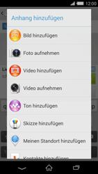 Sony Xperia Z2 - MMS - Erstellen und senden - Schritt 17