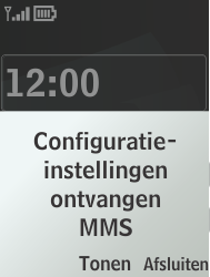 Nokia 301-1 - MMS - Automatisch instellen - Stap 3