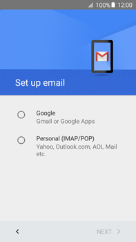 Samsung Galaxy A8 - E-mail - 032a. Email wizard - Gmail - Step 8