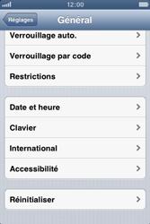 Apple iPhone 3GS - Téléphone mobile - Réinitialisation de la configuration d